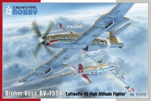 Special Hobby 72372 Blohm Voss BV 155B-1 'Luftwaffe 46 High Altitude Fighter' 1/72