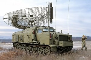 Trumpeter 09569 P-40/1S12 Long Track S-band acquisition radar 1/35