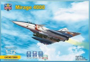 Modelsvit 72053 Mirage 4000 (upgraded version) 1/72
