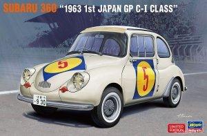 Hasegawa 20465 Subaru 360 1963 1st Japan GP C-I Class 1/24