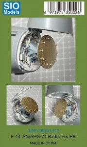 SIO Models 3DP-48001-G2 F-14 AN/APG-71 Radar 1/48