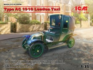 ICM 35658 Type AG 1910 London Taxi 1/35