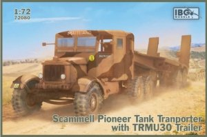 IBG 72080 Scammell Pioneer Tank Transporter with TRMU30 Trailer 1/72