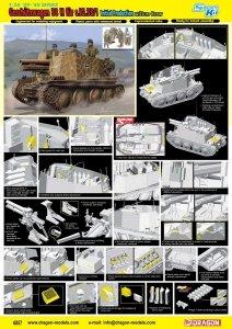 Dragon 6857 Geschutzwagen 38 H fur s.IG.33/1 Initial Production w/Gun Crew 1/35
