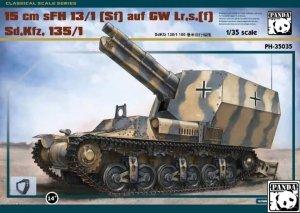 Panda Hobby 35035 15 cm sFH 13/1(Sf) auf GW Lr.s.(f) Sd.Kfz. 135/1 ( metal truck, metalowe gąsiennice ) 1/35