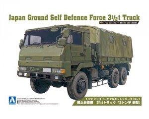 Aoshima 00232 JGSDF 3.5t Truck New Version 1:72