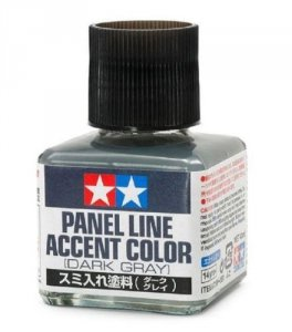 Tamiya 87199 Panel Line Accent Color Dark Gray 40ml