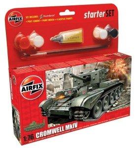 Airfix 55109 Cromwell Mk.IV Cruiser Tank (Starter Set) 1/76