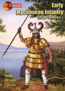 Mars 72086 Early Mycenaean infantry (30 figs) (1:72)