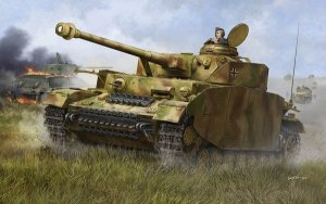 Trumpeter 00920 German Pzkpfw IV Ausf.H Medium Tank (1:16)
