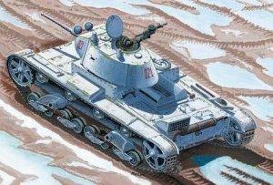 Mirage Hobby 72611 T-26C light tank model 1937/45mm Gun (1:72)