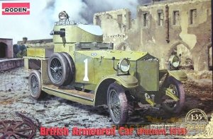 Roden 803 British Armoured Car Pattern 1914 (1:35)