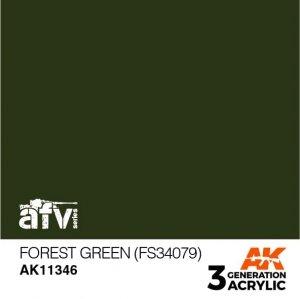 AK-Interactive AK 11346 Forest Green (FS34079) 17ml