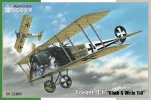 Special Hobby 32065 Fokker D. II Black & White Tail 1/32