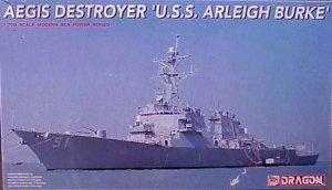 Dragon 7029 USS Arleigh Burke AEGIS Destroyer 1/700