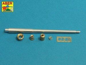 Aber 35l-232 10,5cm KwK L/70 barrel with perforated muzzle brake for German Pz.Kpfw. VII Lowe or VK 7201(K) 1:35