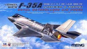 Meng LS-011 F-35 A Lightning II Royal Netherlands Air Force 1/48