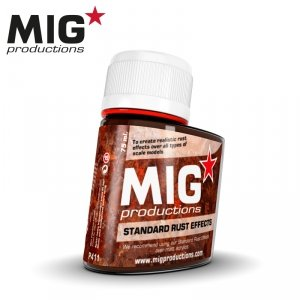 Mig Productions P411 STANDARD RUST EFFECTS (75ML)