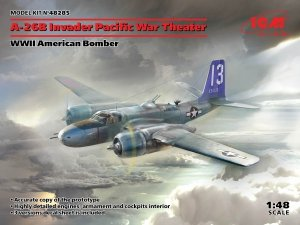 ICM 48285 A-26В Invader Pacific War Theater, WWII American Bomber 1/48