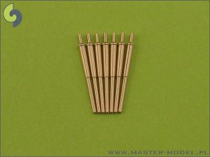 Master SM-400-001 Bofors 12 cm/50 (4.7in) Model 1934/1936 (7pcs)