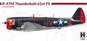 Hobby 2000 72045 P-47M Thunderbolt 61st Fighter Squadron 1/72