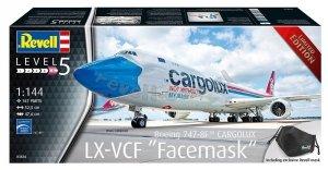 Revell 03836 Boeing 747-8F Cargolux Facemask 1/144