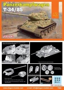 Dragon 7564 Panzerkampfwagen T-34/85 1/72