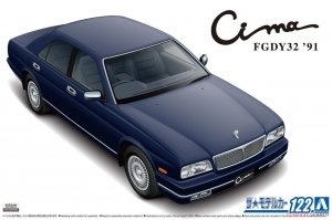 Aoshima 05953 Nissan Cima FGDY32 Limited '91 1/24