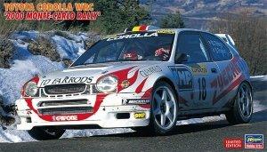 Hasegawa 20396 Toyota Corolla WRC 2000 Monte-Carlo Rally 1/24
