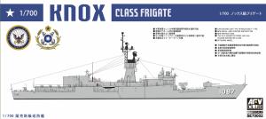 AFV Club SE70002 Knox-Class Frigate FF-1073 Robert E. Peary ROC Navy 932 (Taiwan) 1/700