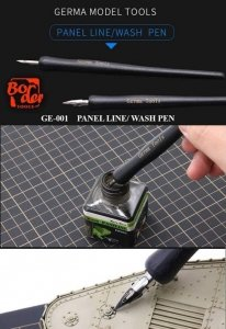 Border Model GE-001 Panel Line/Wash Pen