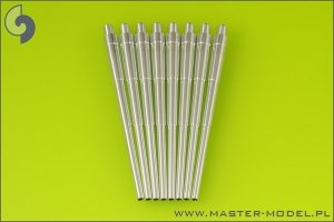 Master SM-200-006 German battleship Bismarck - main gun barrels - 38 cm (15in) SKC/34 (8 pcs)