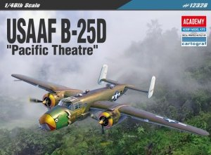 Academy 12328 North American B-25D Pacific Theatre 1/48