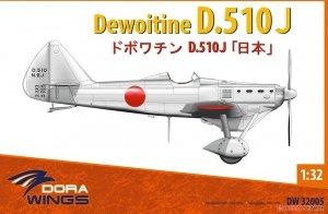 Dora Wings 32005 Dewoitine D.510J 1/32