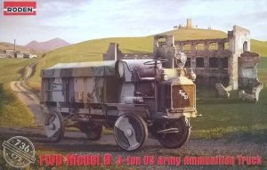 Roden 736 FWD Model B 3-ton US Army Ammunition Truck