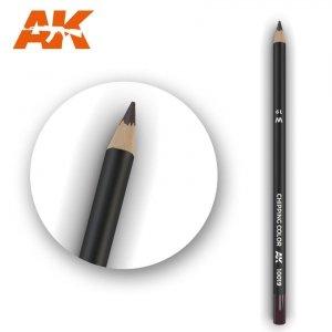 AK Interactive AK 10019 Watercolor Pencil CHIPPING COLOR