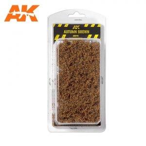 AK Interactive AK 8170 AUTUMN BROWN SHRUBBERIES 75MM / 90MM 1/35