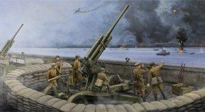 Trumpeter 02342 Soviet 52-K 85mm Air Defense Gun M1943 Late Version (1:35)