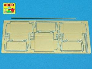 Aber 48029 Czołg KW 1 lub KW 2 wczesne- część 2- zasobniki na narzędzia wczesne (TAM) 1/48
