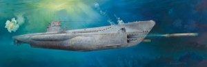 Trumpeter 06801 DKM U-Boat Type VIIC U-552 1/48