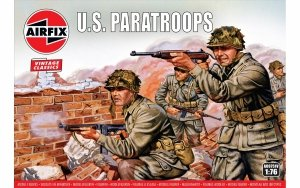 Airfix 00751V WWII U.S. Paratroops 1/76