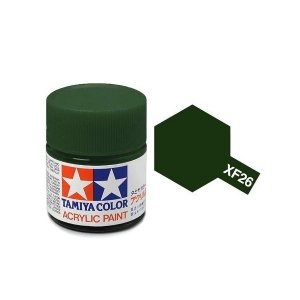 Tamiya 81326 Acryl XF-26 Deep Green 23ml