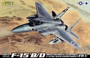 Great Wall Hobby L4815 F-15B/D ISRAELI (1:48)
