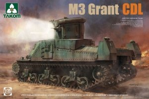 Takom 2116 BRITISH MEDIUM TANK M3 GRANT CDL 1/35