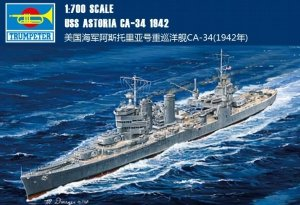 Trumpeter 05743 USS Astoria CA-34 1942 1/700