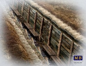 Master Box 35174 The trench. WWI & WWII era 1/35