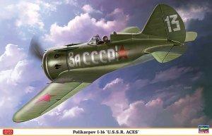 "Hasegawa 08256 Polikarpov I-16 ""U.S.S.R. ACES"" (1:32)"