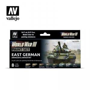 Vallejo 70224 WWIII East German Armour & Infantry 8x17ml