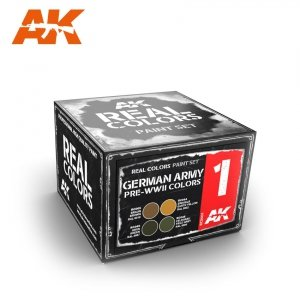 AK Interactive RCS001 GERMAN ARMY PRE-WWII COLORS SET (4x10ml)
