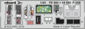 Eduard 49993 F-35B interior 1/48 KITTY HAWK